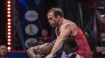 Világbajnoki bronzérmes a birkózó Kiss Balázs és Korpási Bálint