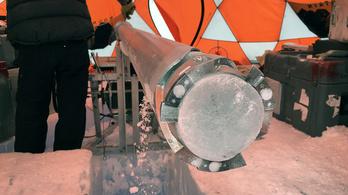2,7 millió éves jeget találtak a Princeton kutatói