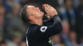 Mesteri bokamozdulatból lőtte 200. PL-gólját Rooney a City ellen