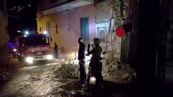Mindhárom gyereket sikerült kimenteni a romok alól Olaszországban