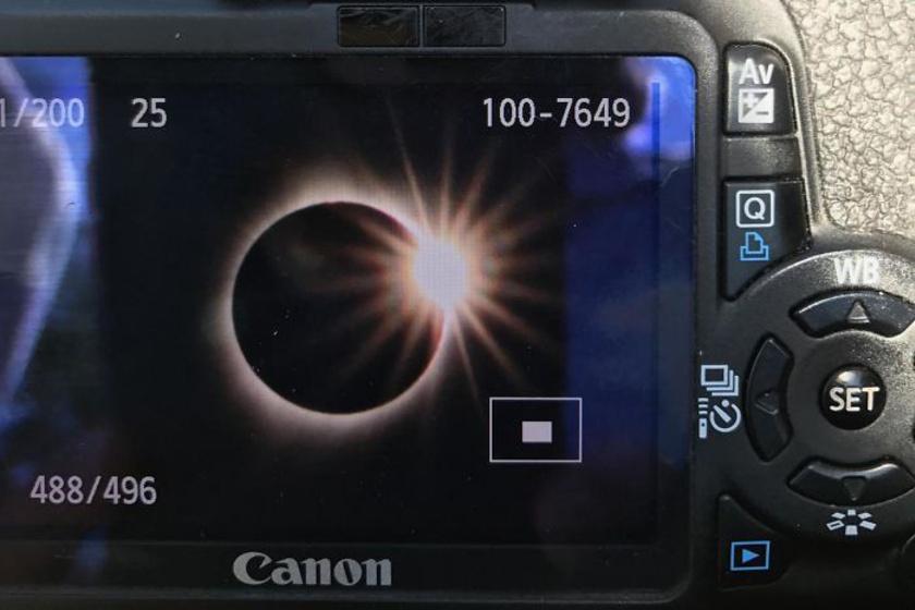 Csodás képek a napfogyatkozásról