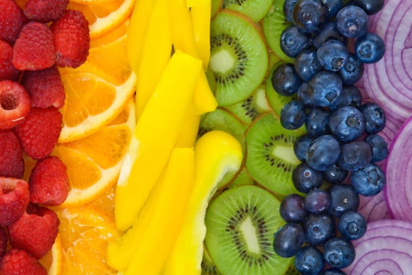 Szivárvány-diéta: az összes felesleged leadhatod ezzel a könnyen tartható étrenddel