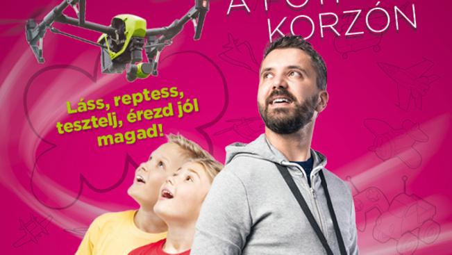 Drónsimogatóval várják a drónok rajongóit Fóton
