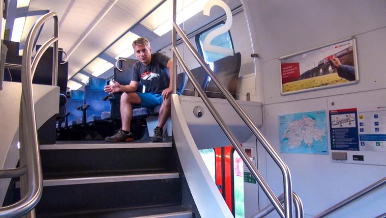 Kipróbáltuk a MÁV új, emeletes vonatát