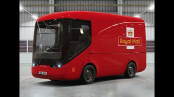 Cuki villanyteherautókat tesztel a brit posta