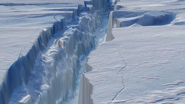 Kilencvenegy vulkánt találtak az Antarktisz alatt!