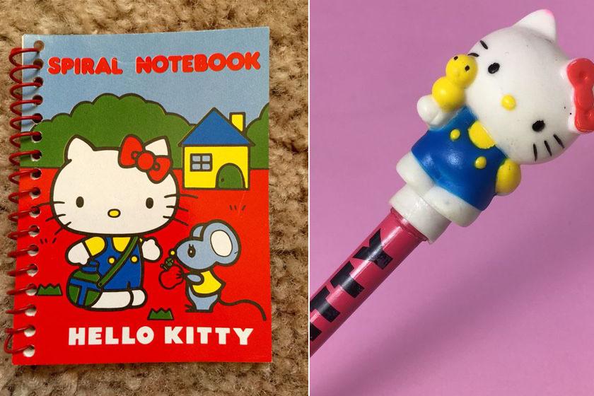 Ha valakinek Hello Kitty-s notesze, ceruzája, radírja vagy bármije volt, az menőnek számított az osztályban.