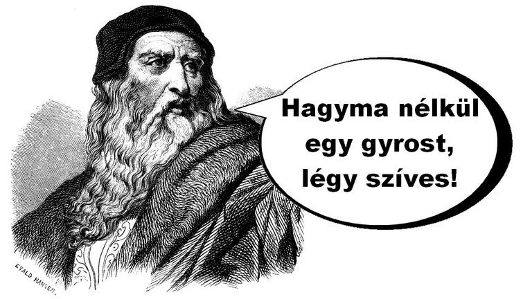 Leonardo da Vinci soha nem mondott ilyet!