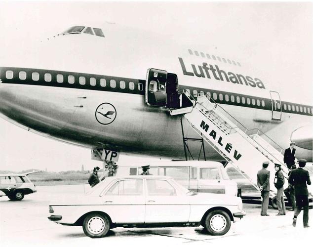 Az első Boeing 747 Budapesten.