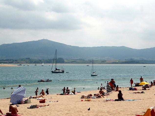 Santander homokos tengerpartja