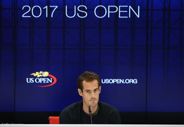 Andy Murray sajtótájékoztatója