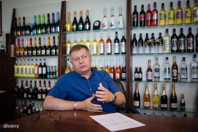 Kovács György, a Törley Kft. ügyvezető igazgatója.