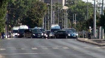 Nézze meg, mekkora kísérettel jött Putyin Budapestre!