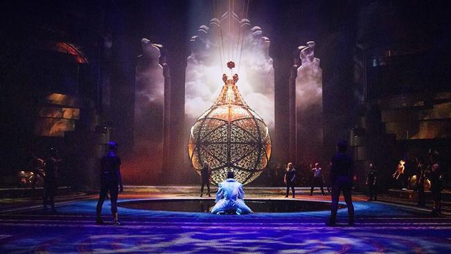 Óriás vízi színház Dubaj legújabb látványossága