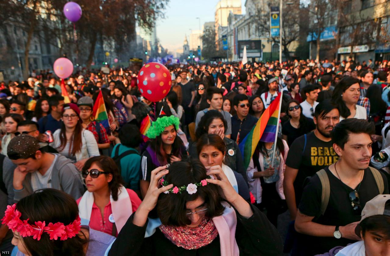 Közben a kongresszus előtt áll egy törvényjavaslat, ami a felnőttek esetében engedélyezné a nem jogi elismerését. A javaslat ellen több szervezet és egyház tiltakozott, kétségeit fejezte ki például a chilei endokrinológusok társasága is. Véleményük szerint a javaslat a felnőttek esetében támogatható, a fejlődésben lévő gyerekek esetében azonban korainak tartják.