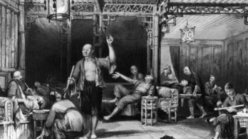 Az ópium döntötte romlásba Kínát