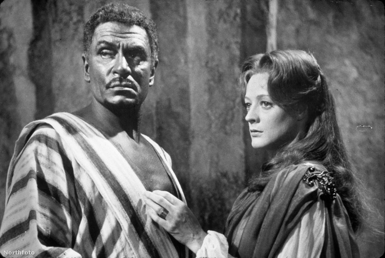 Laurence Olivier és Maggie Smith