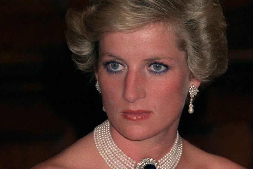 Diana hercegnő Magyarországra látogatásakor gyönyörű estélyi ruhákat viselt