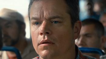 Összezsugorított férj lett Matt Damonból