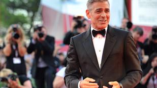 George Clooney-t végleg elragadták az érzelmei