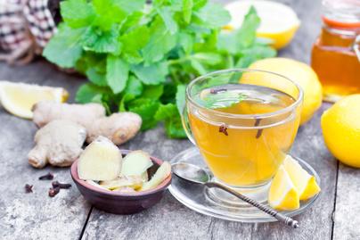 citrom gyomber tea
