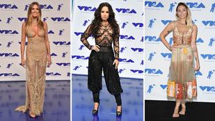 MTV VMA 2017: kinek áll jobban a pucérruha?