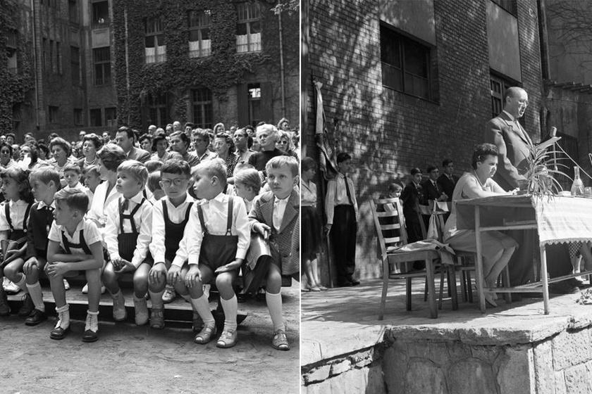 Szeptember 1-jén indul az iskola: képeken az elmúlt évtizedek évnyitói