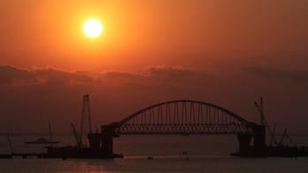 Hamarosan elkészül a híd Oroszország és a Krím között