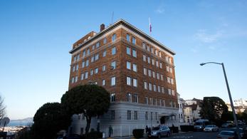 Az USA bezáratja a San Franciscó-i orosz főkonzulátust