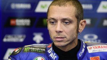 Valentino Rossit kettős lábtöréssel műtötték az éjjel