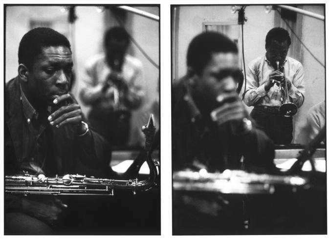 John Coltrane és Miles Davis