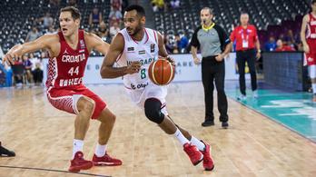 A magyar-horvát kosárlabda Eb-meccs percről percre