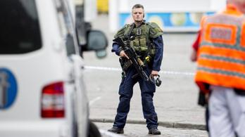 Gépfegyvereket kapnak a finn rendőrök a késes támadás miatt