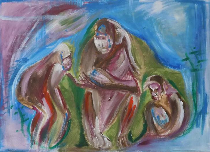 Beszédes Zsuzsi - Majom sziget
