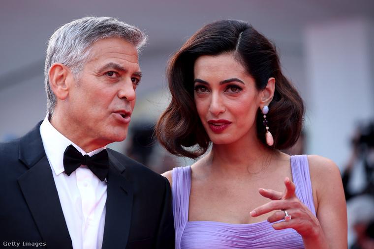 És, mint látható, Amal Clooney nagyon érdeklődik a gyakorlati tudnivalók iránt is