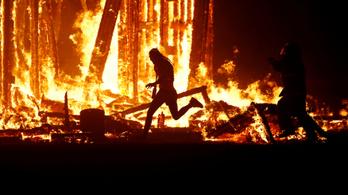 Meghalt egy ember a Burning Man fesztiválon