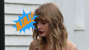Taylor Swift oda se bagózott az esőben várakozó rajongóira