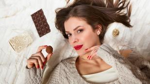 Imádom a csokit, mi bajom lehet?