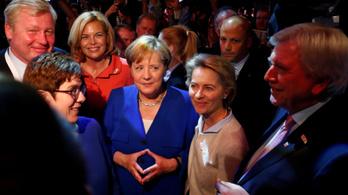 Merkel jött ki jobban a kancellárjelölti vitából