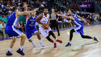 A magyar-cseh kosárlabda Eb-meccs percről percre