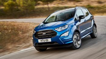 Megszépül a Ford Ecosport