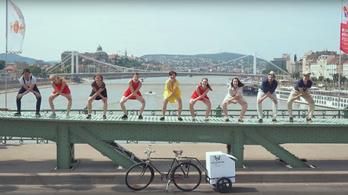 Szenzációs videó a Budapestet körbetáncoló swingesekről