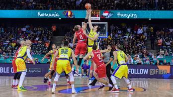 Kosár-Eb: sorsdöntő meccs a magyar-román