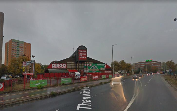 Konsumex áruház Diego kelenföld