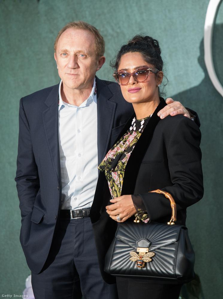 Benézett rá Salma Hayek és férje, Francois-Henri Pinault is.