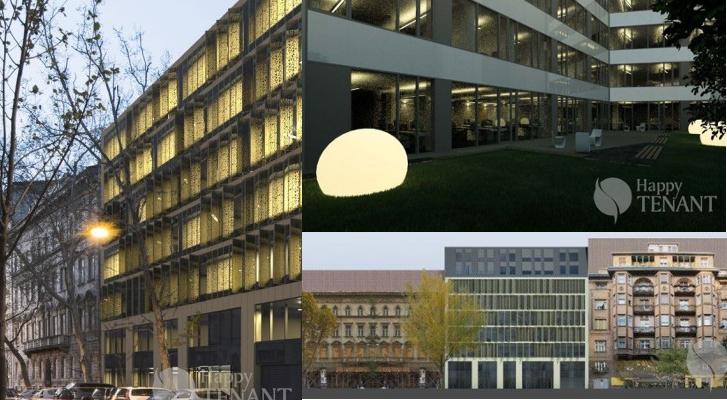 Látványtervek a Hold 17 Offices irodaházról