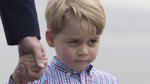György herceg is csak egy átlagos gyerek, mikor iskolába kell menni