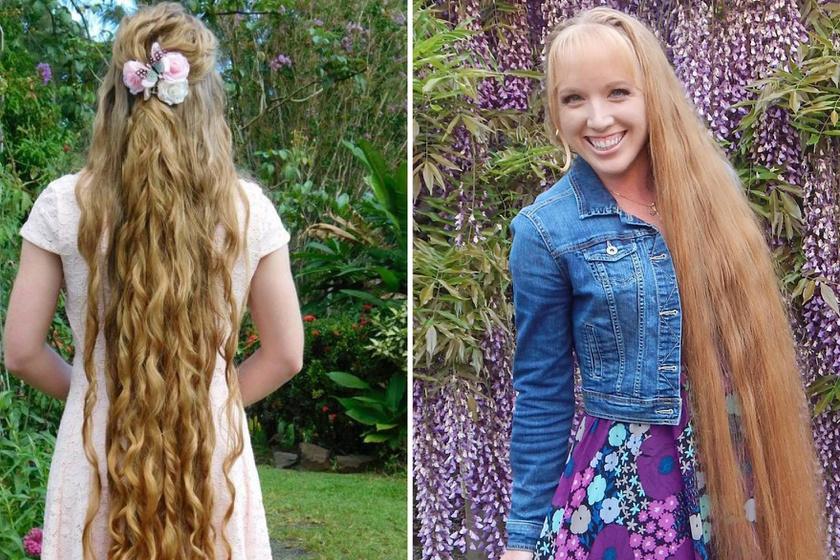 162 centi hosszú a haja ennek a nőnek - Elárulta, mitől nőtt ekkorára