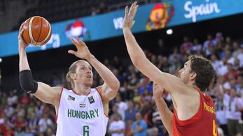 Kikaptak, de jár az elismerés a magyar kosarasoknak