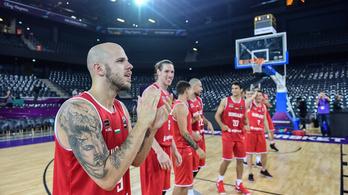 Szerbia lesz a magyar kosár-válogatott ellenfele a nyolcaddöntőben